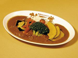 野菜バッファローカレー