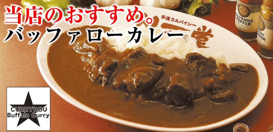 カレー堂堀江 バッファローカレーTOP画像